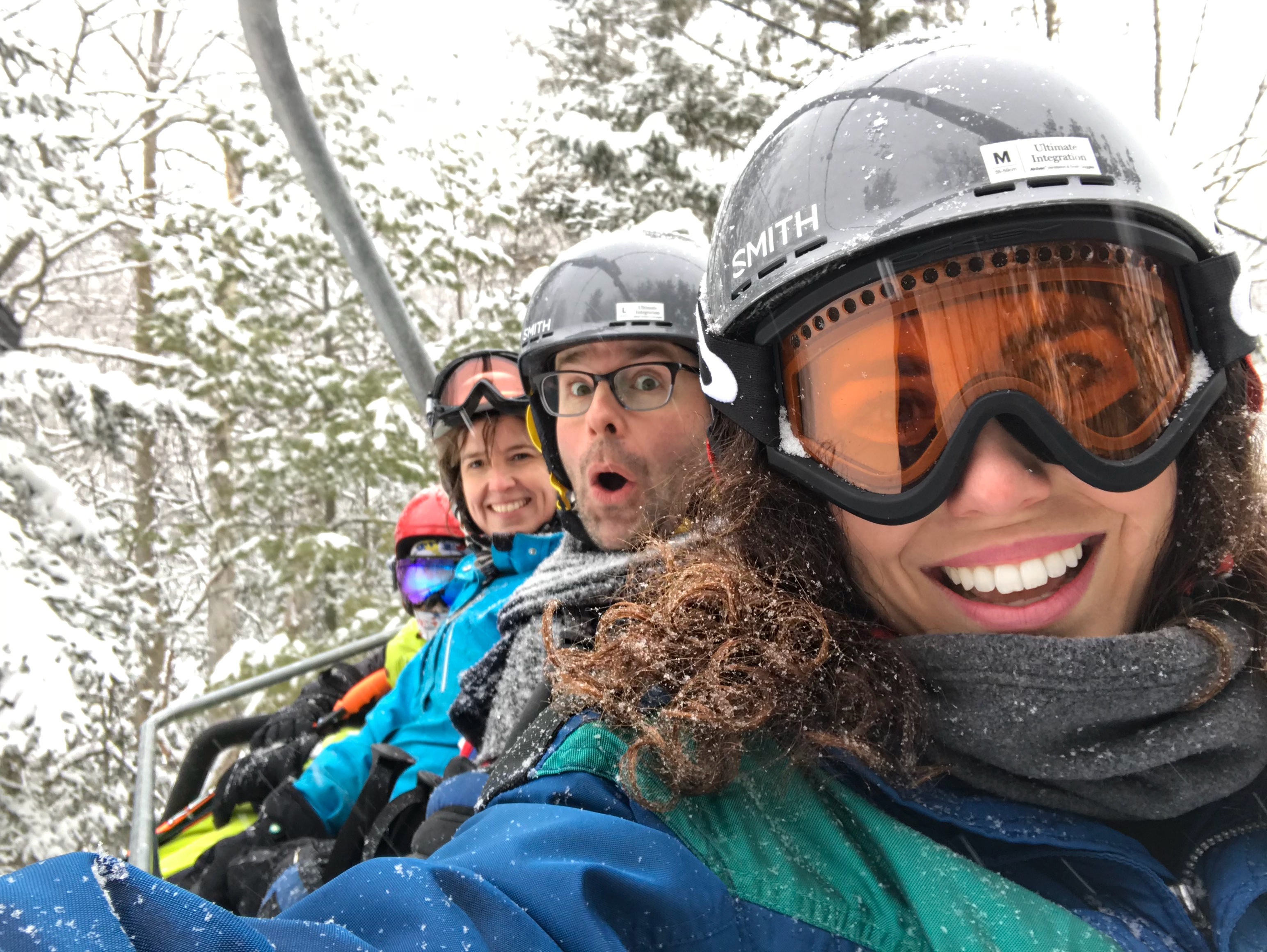 Downhill Skiing Adventure